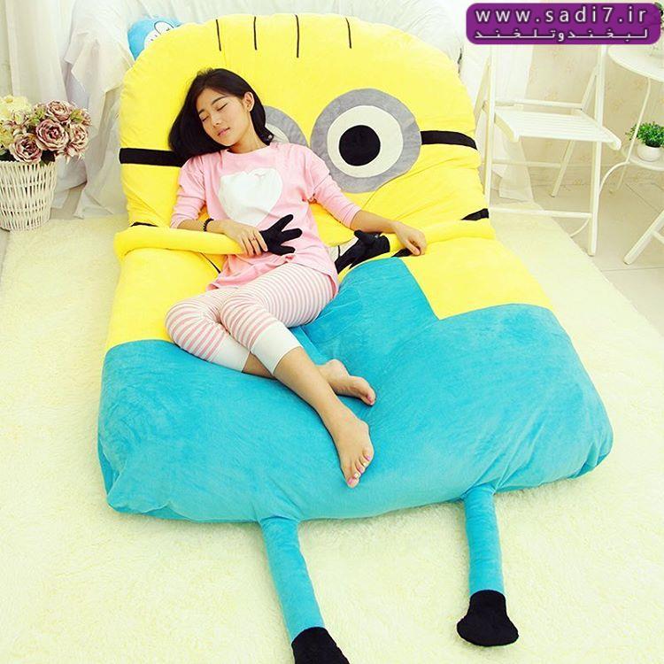 تخت خواب مینیونی