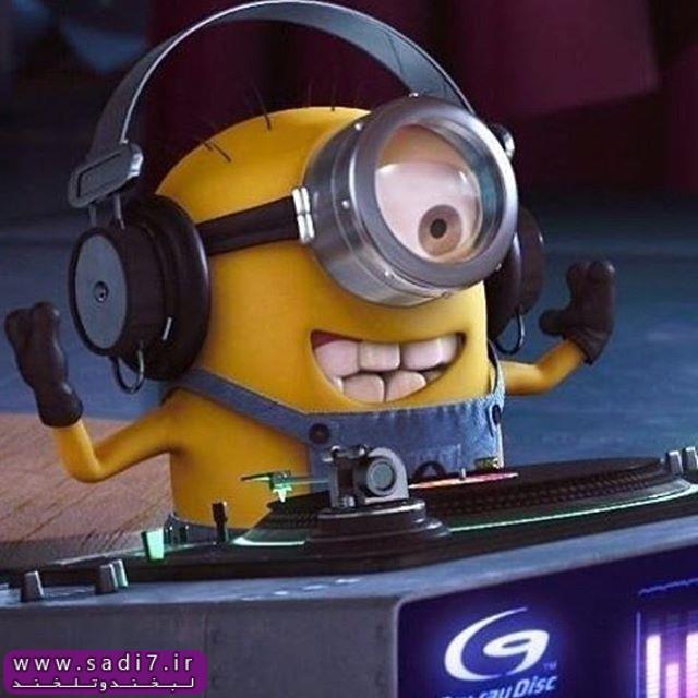 مینیون dj