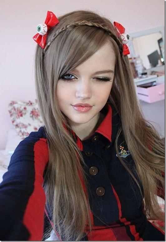 دختر باربی 16 ساله