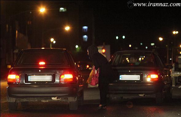 دختران تهرانی در ساعات پایانی شب