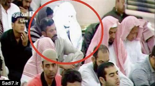 جنجال جوان نورانی در مسجد النبی